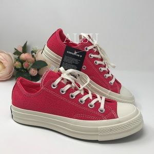 NWT Chuck 70 OX Canvas Racer Pink W AUTHENTIC